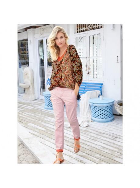 summum,pantaloni vara , roz,