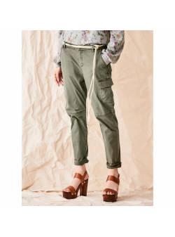 pantaloni cargo , dama ,kaki , mar 42 , sienna