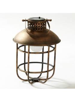 lampa solara, stil industrial