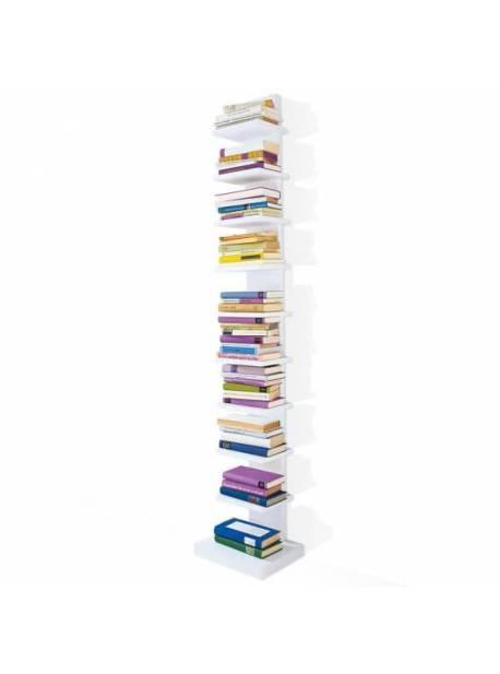 raft alb pentru carti, H 180cm