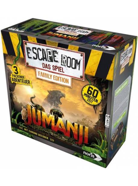 Joc Noris Escape Room Jumanji, joc in limba germana