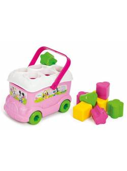 """Jucărie educațională, """"autobuzul Minnie"""", Clementoni."""