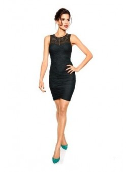 Ashley Brooke by Heine, rochie neagra, eleganta, M,