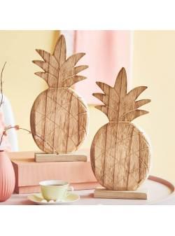 ananas din lemn, H 31 cm