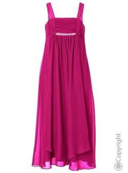 SHEEGO, rochie ciclam eleganta, lunga, M, L, XL