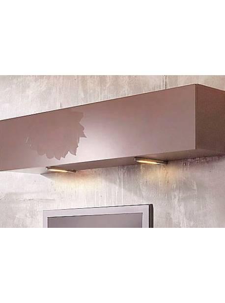spoturi LED argintii pentru mobilier, 5 buc