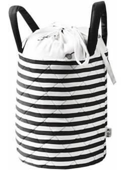 sac depozitare smarTrike®, fibra de bambus Organizator, sac din fibra de bambus, culoare alb-negru