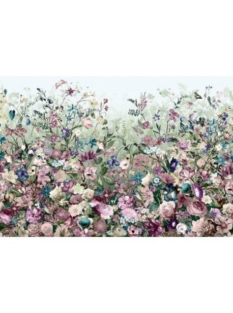 komar, fototapet cu trandafiri roz, 368 x 254cm