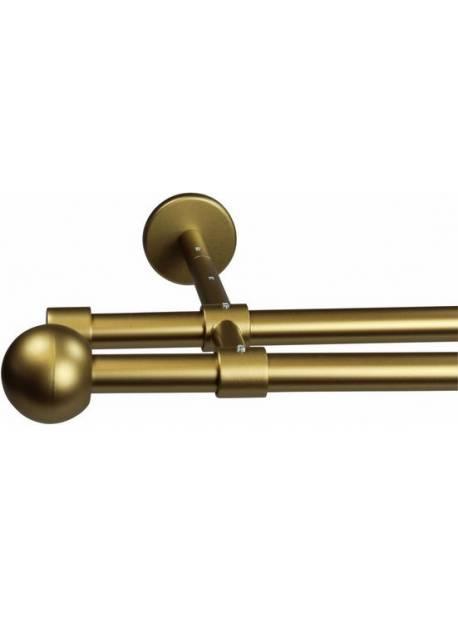 garesa, tija aurie pentru perdea Bolti, Ø 16 mm, 320cm, 1 picior