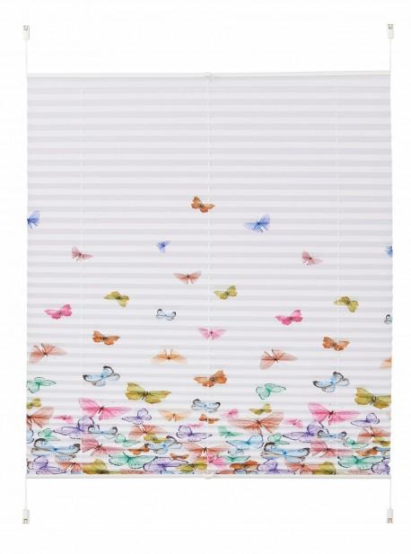 Jaluzea plisata cu fluturi , Indio , 130/40cm