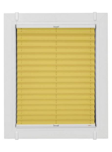 sunlines, jaluzea plisata opaca crem, L 67xH180cm