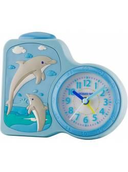 Ceas cu alarmă pentru copii cu delfini Jacques Farel, ACB 712DO«