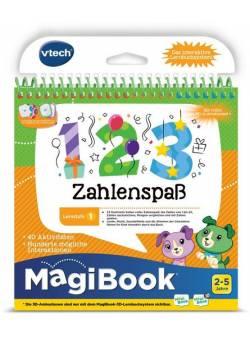 Vtech, Carte educativa distractie cu numere, in limba germana