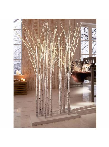 mesteceni decorativi cu leduri, copacei cu 150 leduri