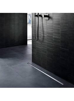 Grila rigola 90 cm, Geberit CleanLine20 inox mat/contur negru
