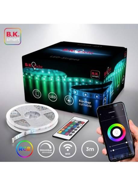 Benzi LED BKLicht, 36 LED, iluminare de fundal TV LED, lungime 2m USB RGB