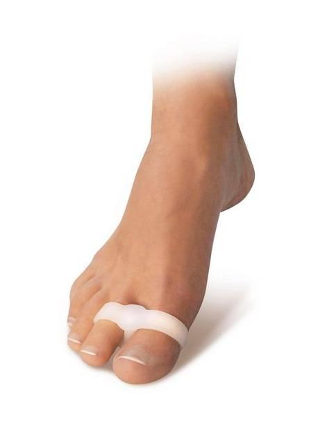 fussgut, inel dublu gel pentru degetele picioarelor, 2 buc