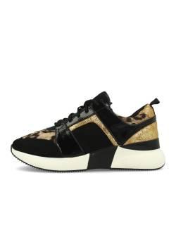La Strada pantofi cu șireturi, animal print, mar 41