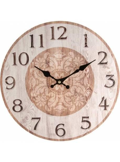 ceas lemn home affaire, 34cm