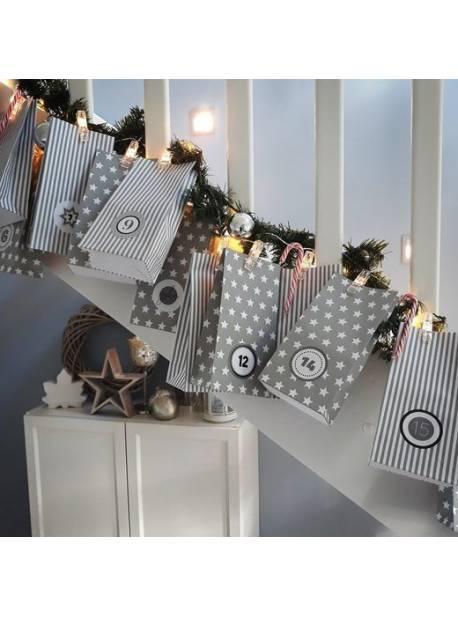 bk licht, sirag cu 40 cleme cu LED pentru fotografii, 5m