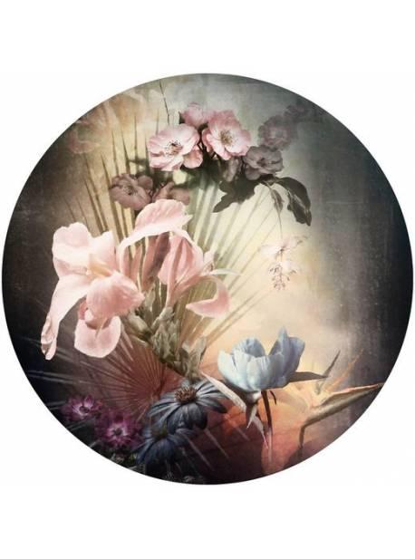 fototapet rotund flori flamande, Ø 125 cm