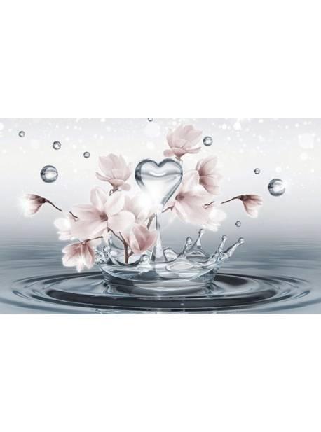 consalnet, fototapet magnolie, tapet floral, 254x184 cm