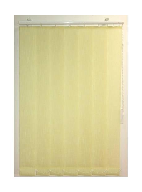 jaluzea verticala galbena, L 170-H 170cm