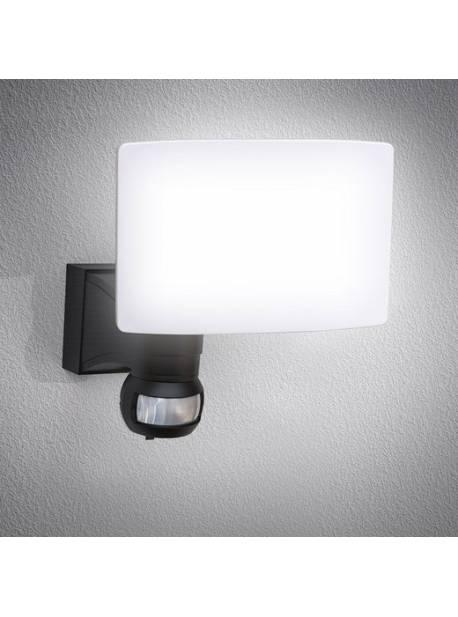 Aplica de perete pentru exterior LED BKLicht, cu detector de mișcare 20W 2.300 lumeni 4.000K, protecție IP44
