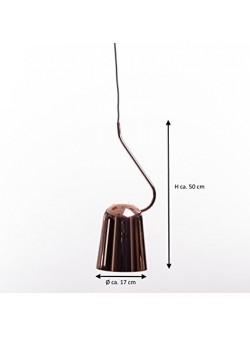 lampa electrica , pendul modern cu abajur metalic cromat