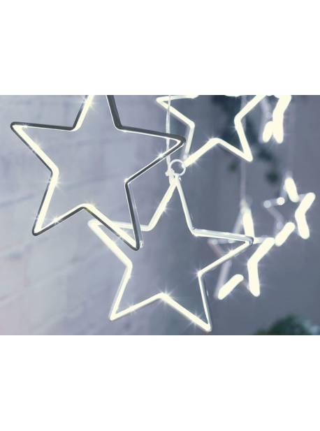 ghirlanda cu sase stele pentru exterior