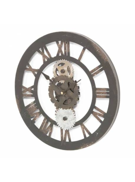 Ceas metalic mare cu rotite