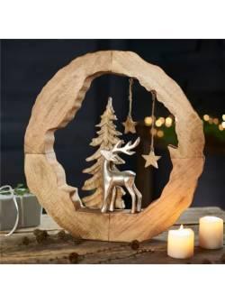 Obiect decorativ vis de iarnă