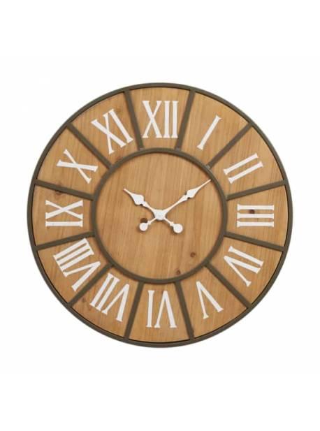 Ceas de perete Lonne, lemn, Ø 60 cm