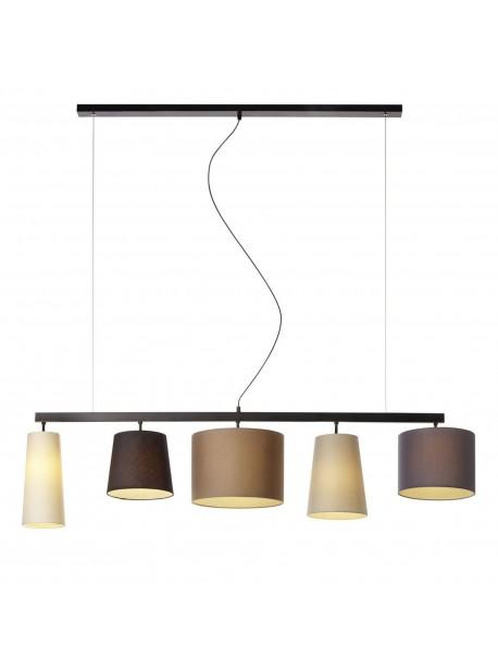 Lampa electrica cu cinci abajururi