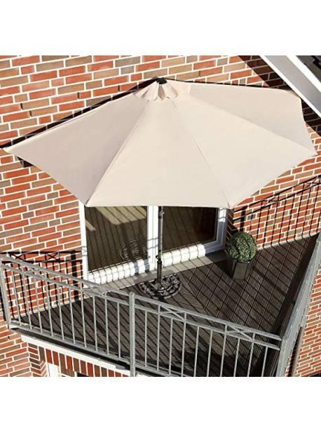paravan solar, semicircular, pentru balcoane, geamuri