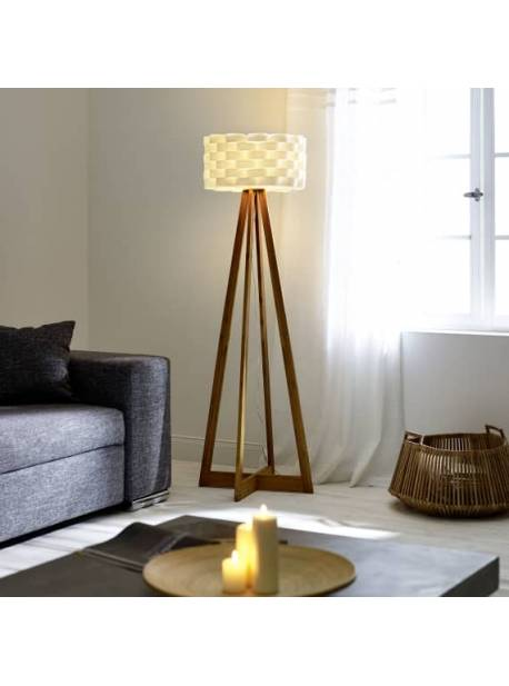 Lampă de podea Flocht, h 150 cm