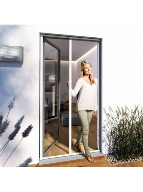 Ușă de protecție împotriva insectelor, usa cu role plus LxH: 225x160 cm