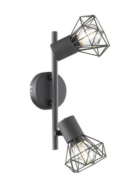 FISCHER & HONSEL lampa de plafon Ran, 2 becuri