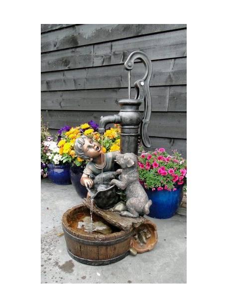Fântâna de grădină AcquaArte Regina, inaltime 77 cm x 38 latime