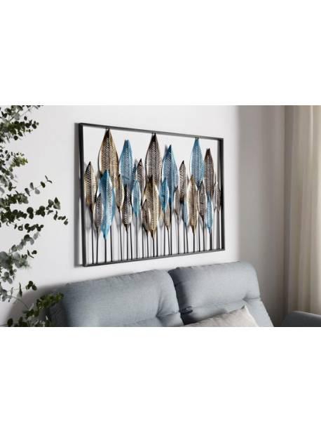 panou decorativ metalic, 102 x 71 cm, tablou