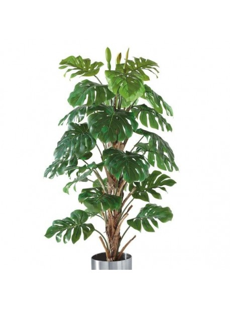 Planta artificiala , ghiveci cu Pfilodendron trunchi natural, H 180 cm