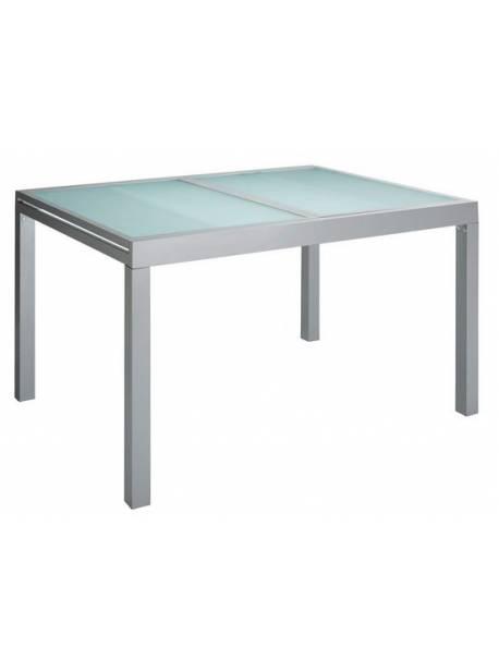 masa de gradina extensibila, din aluminiu, 90x180 cm