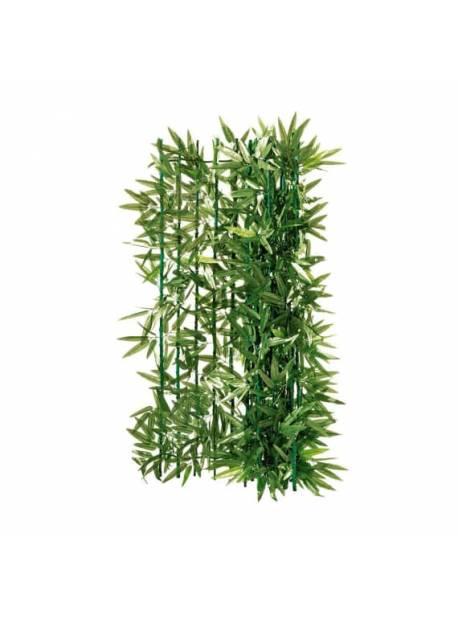plasa imitatie gard viu, 300 x 100 cm, poliester, verde