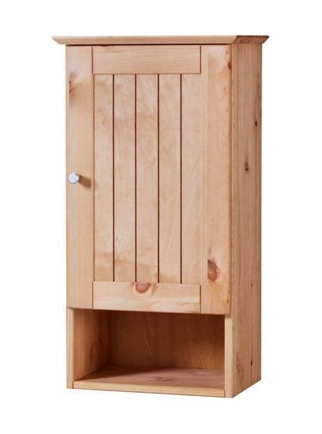 dulap baie, lemn natur, h 62 cm