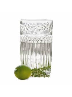 Pahare apa din sticla transparente 0,5L, 6 buc