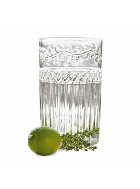 Pahare apa , transparente , 6 buc
