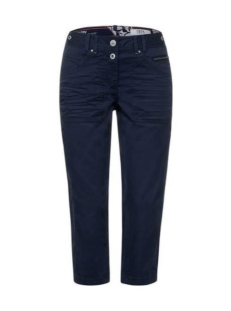 Pantaloni Cecil 3/4 Style New York cu cusături decorative, mar 36