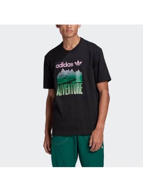 Tricou adidas Originals, ADVENTURE MOUNTAIN LOGO, mar l