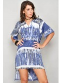 HHG, rochie vara din bumbac, asimetrica, mar L