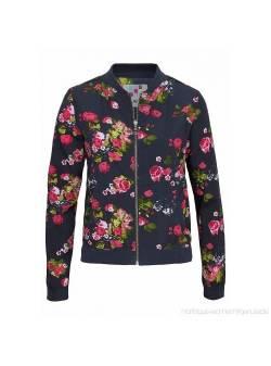 Geaca subtire cu imprimeu floral, bluzon, ajc